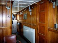 Captains cabin looking to port side