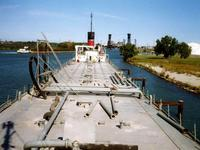 looking aft from texas deck